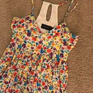MINKPINK Floral Dress XS NWOT